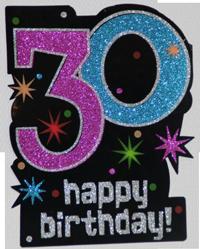 30 anniversaire